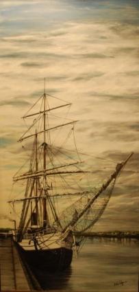 Navire à quai