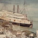 Le bateau-vapeur